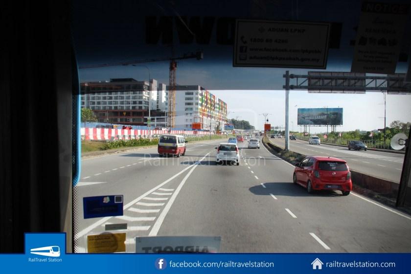Kota Kinabalu Airport Bus Padang Merdeka KKIA 16