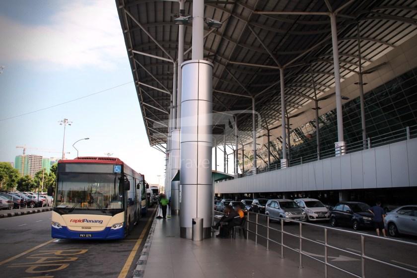Rapid Penang 401E KOMTAR Airport 16