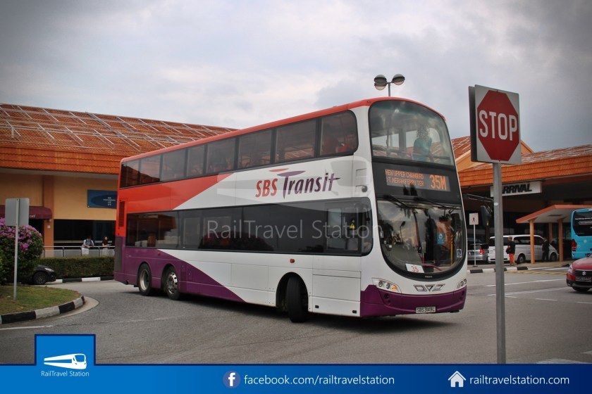SBSTransit Service 35 Tanah Merah Ferry Terminal Tanah Merah MRT 04