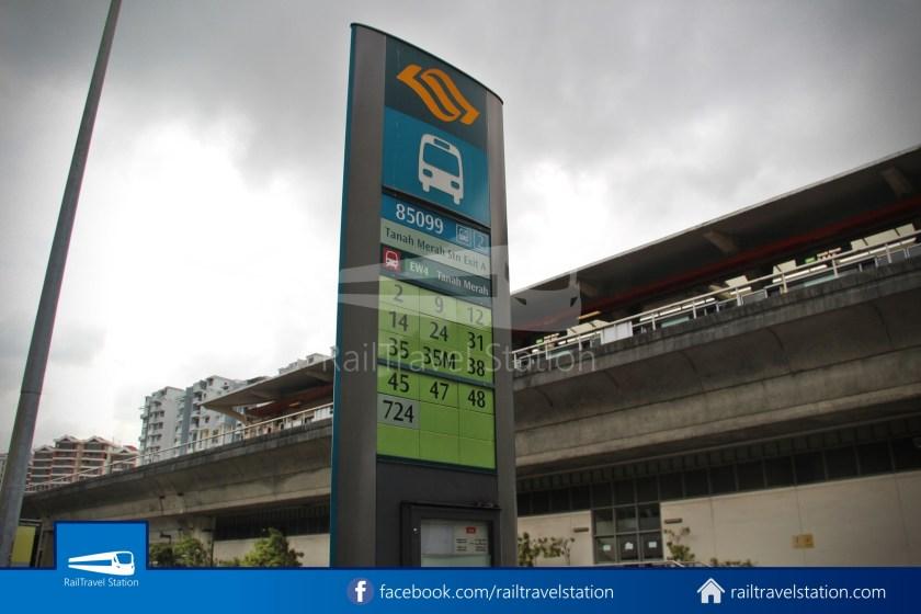 SBSTransit Service 35 Tanah Merah Ferry Terminal Tanah Merah MRT 07