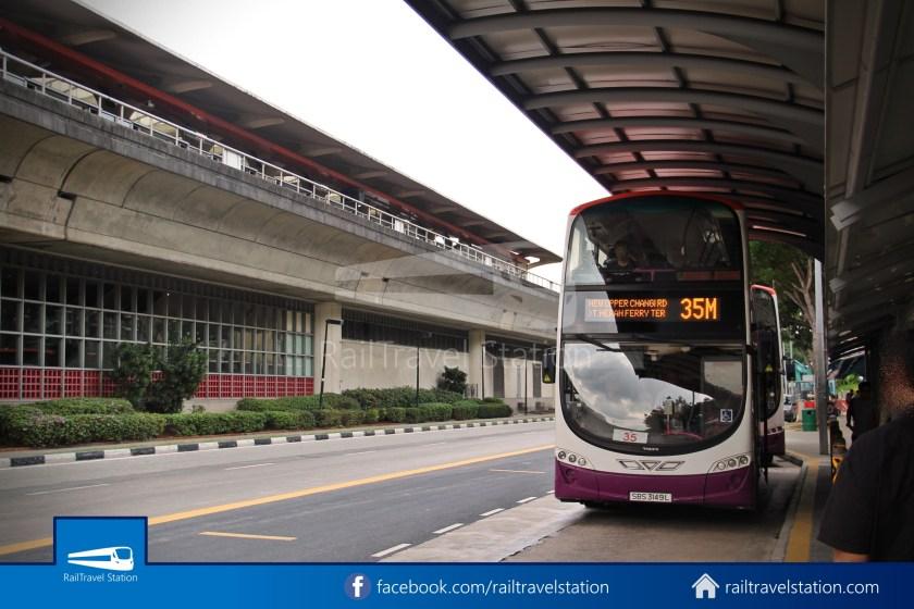 SBSTransit Service 35 Tanah Merah Ferry Terminal Tanah Merah MRT 08