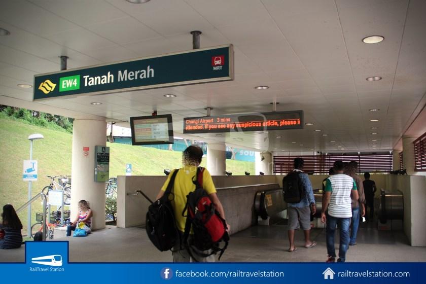 SBSTransit Service 35 Tanah Merah Ferry Terminal Tanah Merah MRT 09