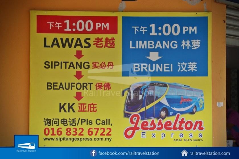 Sipitang Express Kota Kinabalu Bandar Seri Begawan 098