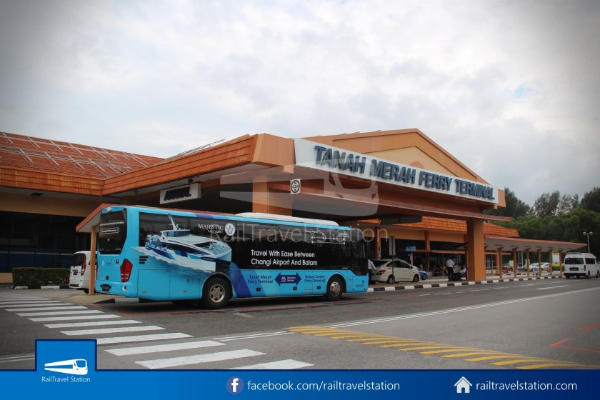 Tanah Merah Ferry Terminal Changi Airport Shuttle Bus 31