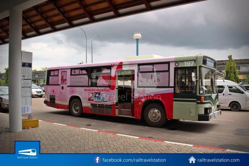 Vientiane City 2 Bus Service Airport Shuttle Airport Nam Phu 013