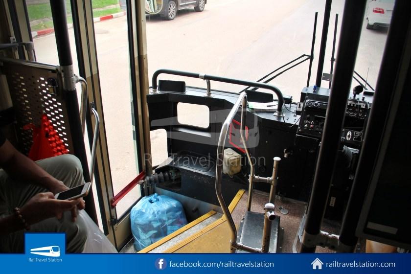 Vientiane City 2 Bus Service Airport Shuttle Airport Nam Phu 021