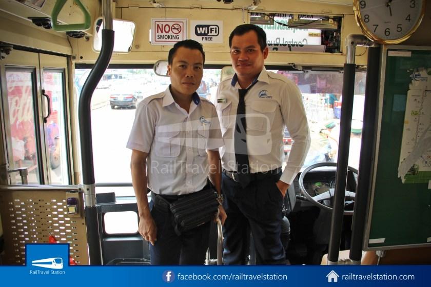 Vientiane City 2 Bus Service Airport Shuttle CBS Airport 009