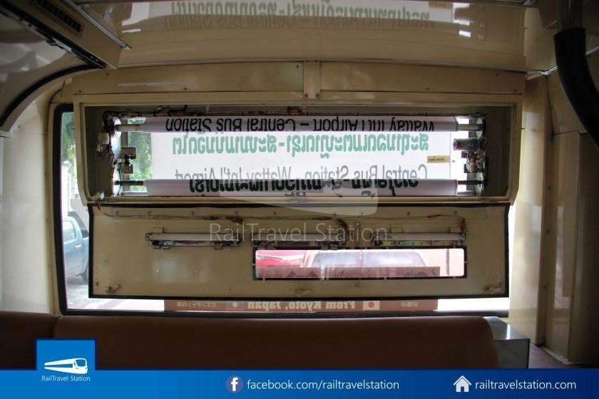 Vientiane City 2 Bus Service Airport Shuttle CBS Airport 016
