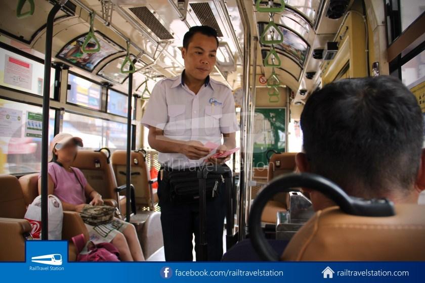Vientiane City 2 Bus Service Airport Shuttle CBS Airport 023