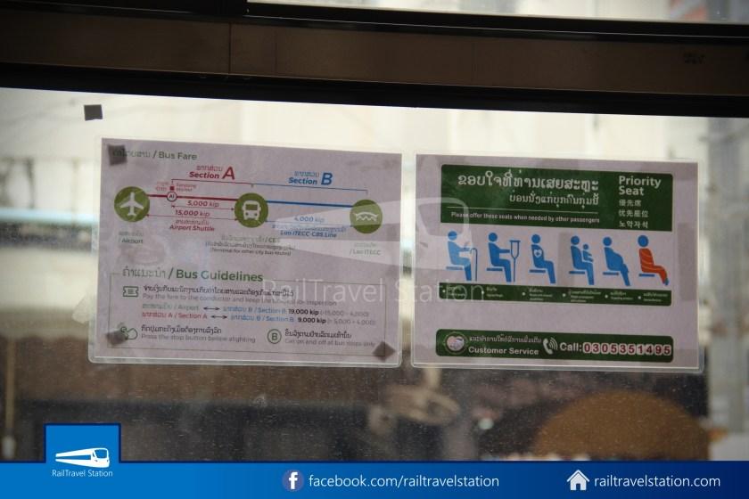 Vientiane City 2 Bus Service Airport Shuttle CBS Airport 024