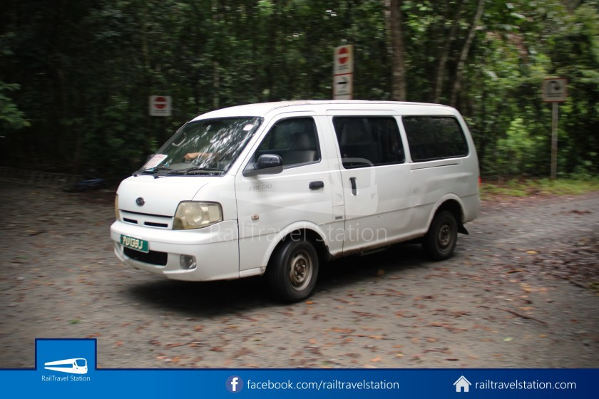 Pulau Ubin Taxi Van Chek Jawa Wetlands Main Jetty 003