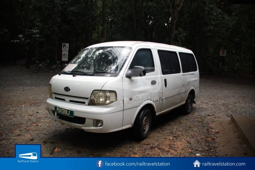 Pulau Ubin Taxi Van Main Jetty Chek Jawa Wetlands 010