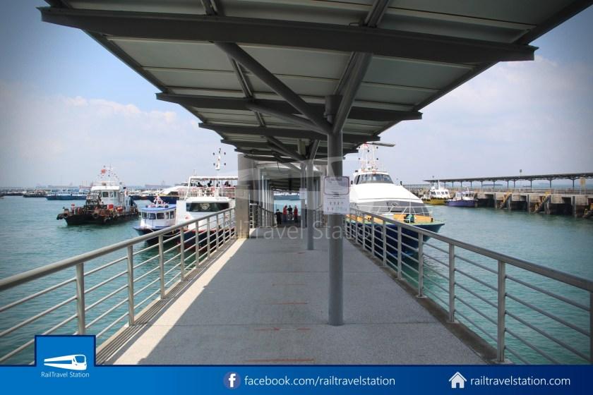 Marina South Ferries Marina South Pier St John Island 006