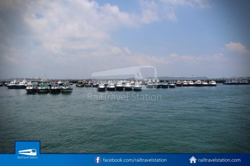 Marina South Ferries Marina South Pier St John Island 018