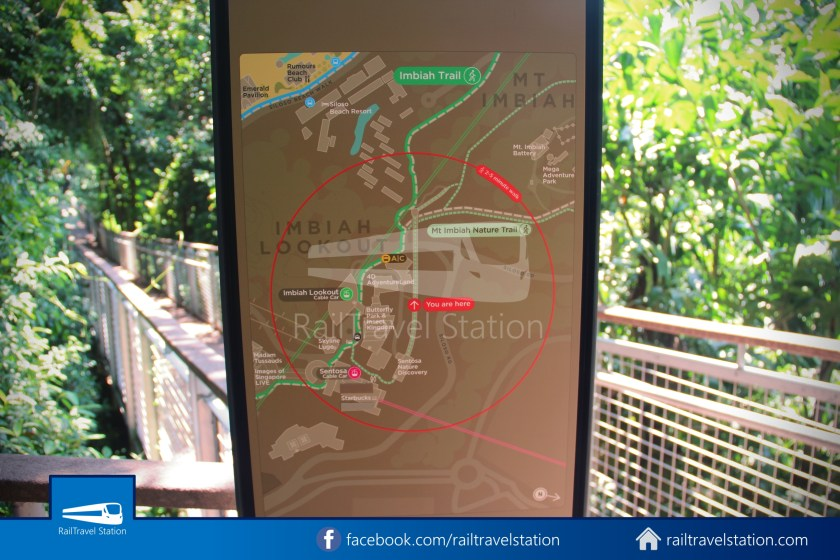 Retracing Old Sentosa Monorail 2020 Station 4 Cable Car Station 020