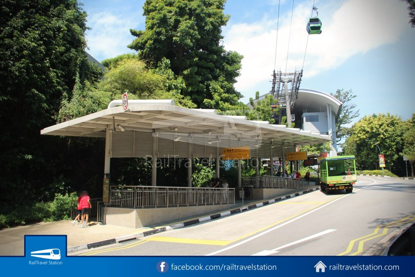 Retracing Old Sentosa Monorail 2020 Station 4 Cable Car Station 038