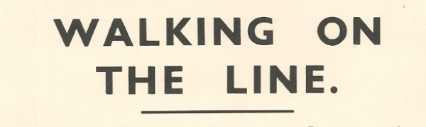 LMS 1939 warning poster. Courtesy Mike Esbester.