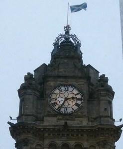 Balmoral Hotel clock - Edinburgh
