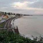Railway blog best posts - View of the railway line at Dawlish