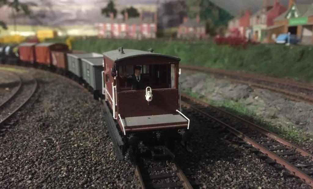 realistic model railway track curve