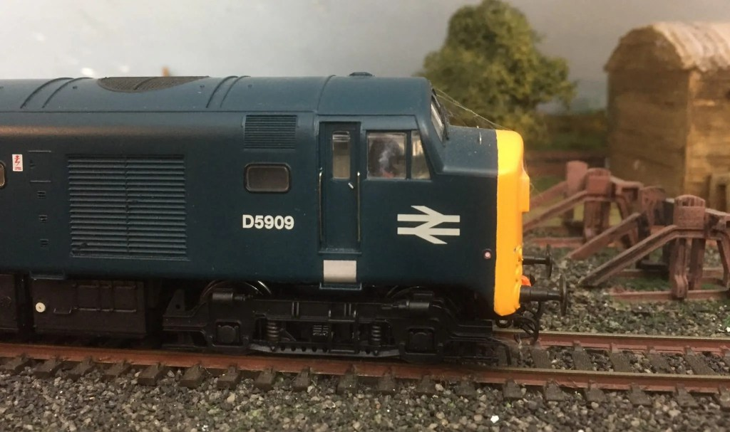 model railway baby deltic