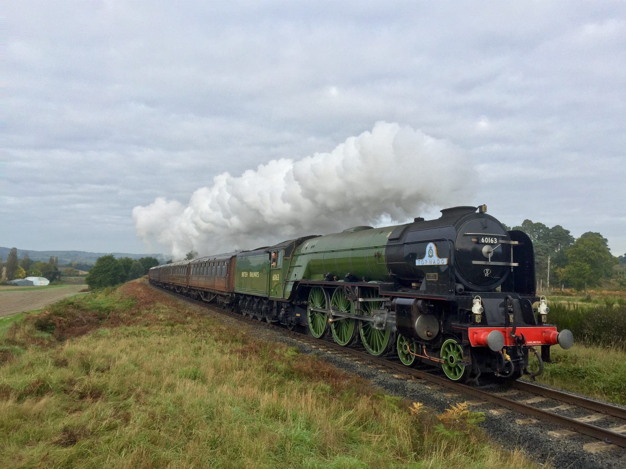 60163 - Tornado locomotive - LNER Peppercorn Class - A1 locomotive