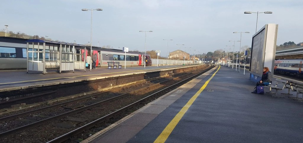 Exeter St Davids station