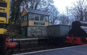 Somerset and Dorset - Midsomer Norton - signal box