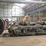 Railway blog best posts - Bullied Pacific wheels and Class 50 bogie