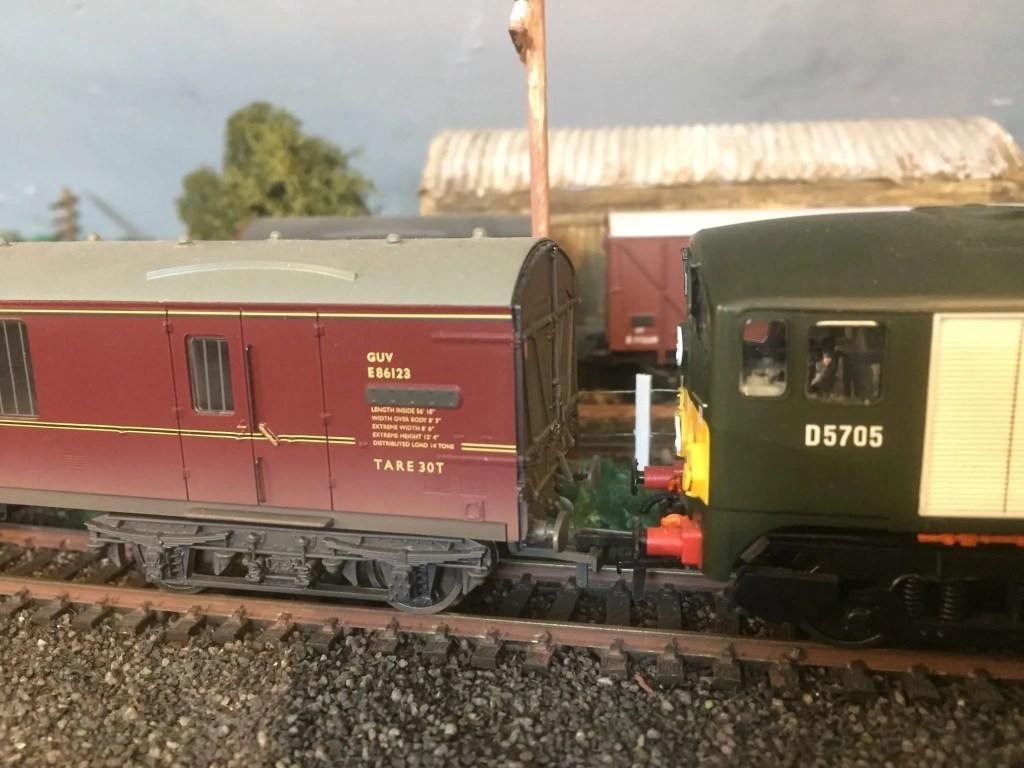 Model railway Co-Bo class 28 locomotive