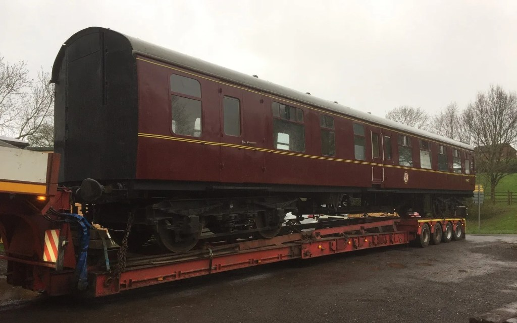 Mark1 carriage on low loader