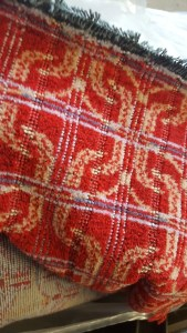 Moquette - mark 1 - railway carriage