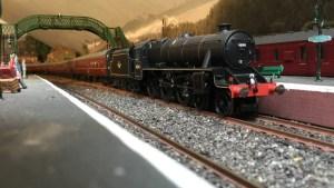 Model railway layout video of Bathford Junction