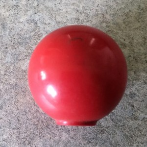 Control knob from Class 15 D8222 given to me when loco stored at the closed 32B Ipswich depot