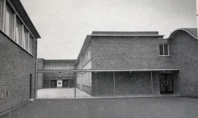 Crewe Works Apprentice Training School entrances