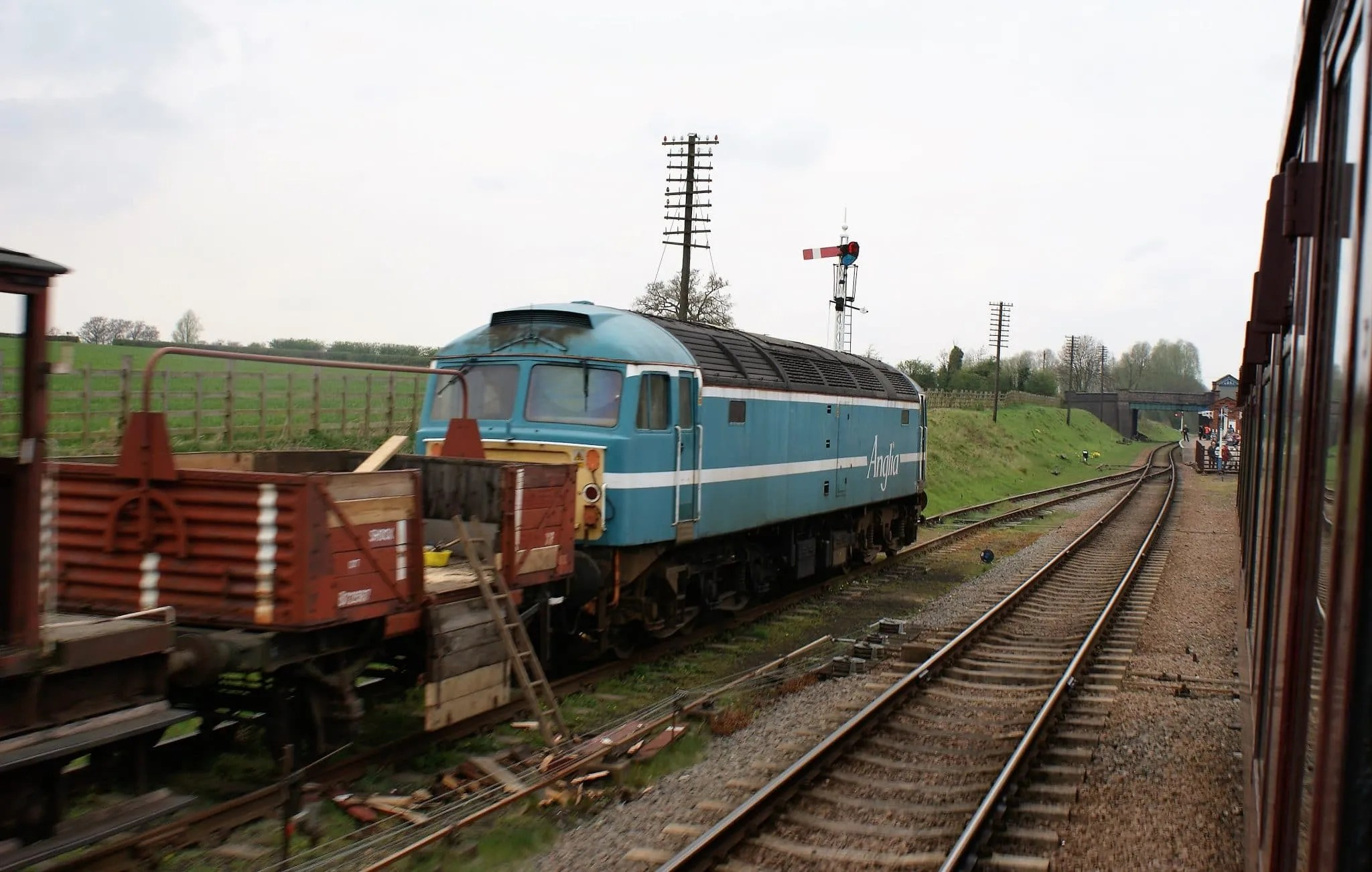 Great Central Railway - 47714 - Class 47