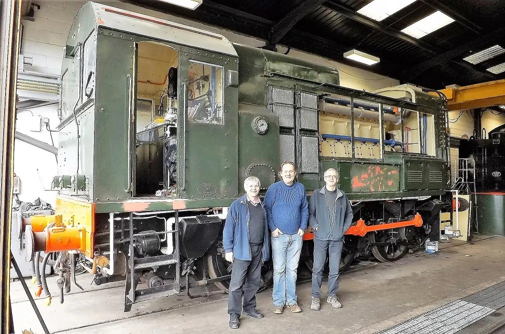 Class 08 Shunter at North Norfolk Railway