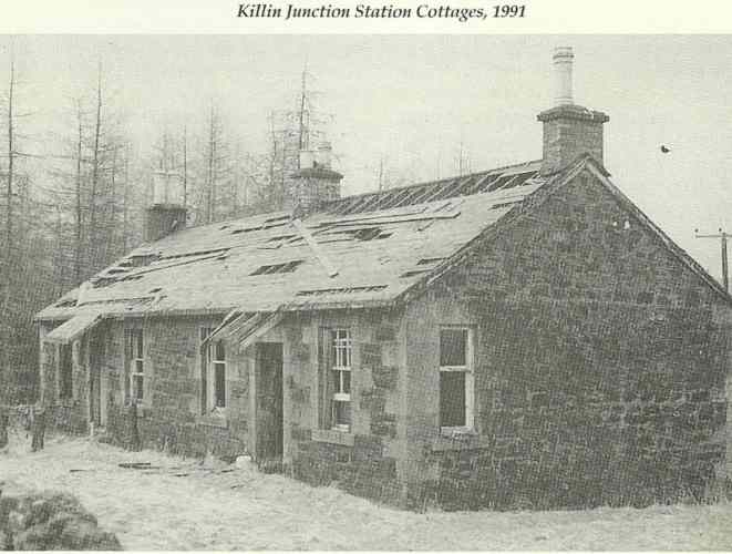 Killin Junction Station Cottages 1991