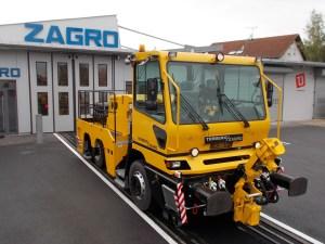 TERBERG / ZAGRO road-rail vehicle RR282 6x4.