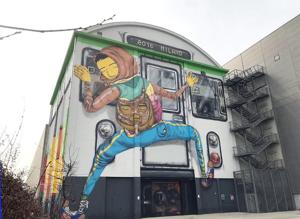 Graffitis im öffentlichen Raum