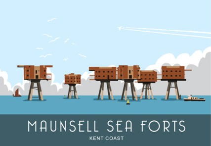 WOS172 Maunsell Sea Forts
