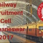 RR East Coast Railway,Bhubaneswar 2017