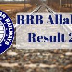 RRB Allahabad Result