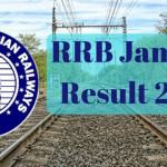 RRB Jammu Results 2017