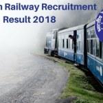 Northern Railway Apprentice Recruitment Result 2017-18
