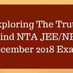 NTA is going to conduct JEE Main & NEET again in December 2018 & May 2019 Twice in a year