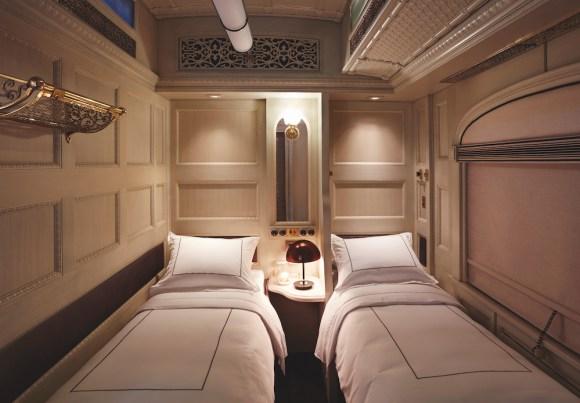 Belmond Andean Explorer cabin twin bed