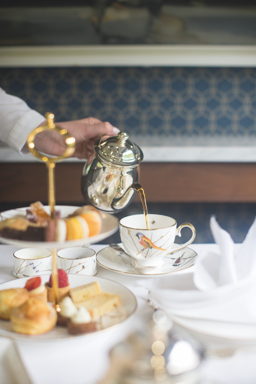 Belmond Grand Hibernian afternoon tea