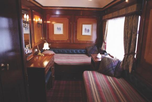 Belmond Royal Scotsman cabin