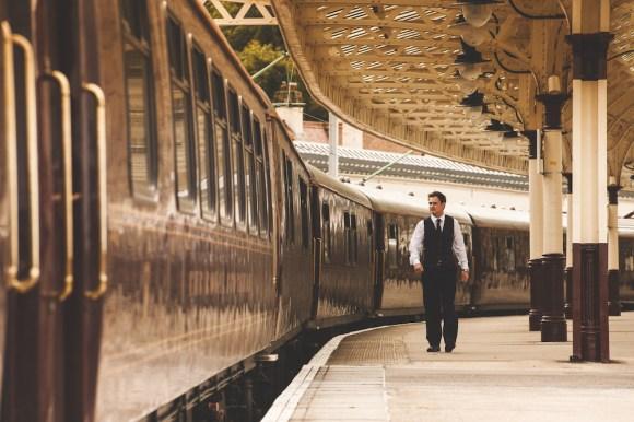 Belmond Royal Scotsman train platform
